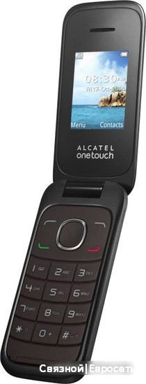 Мобильный телефон Alcatel One Touch 1035D Dark Chocolate фото 4