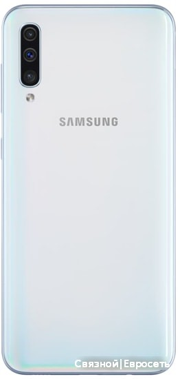 Смартфон Samsung Galaxy A50 4GB/64GB (белый) фото 2