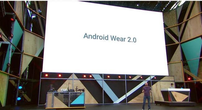 Google IO 2016 Android Wear 2.0