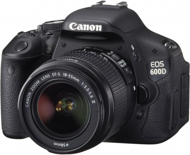 Canon EOS 600D Kit 18-55 DCIII