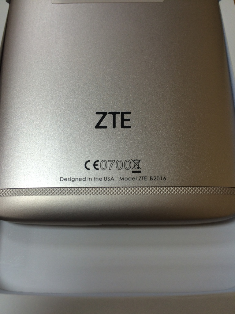 ZTE AXON mini designed in the USA